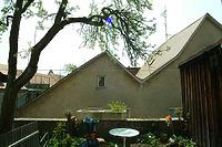Ansicht N; Aufnahme vom Stadtmauerwall aus / Wohnhaus in 89073 Ulm (Michael Hermann)