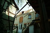 Westansicht / Stallgebäude in 89073 Ulm (14.04.2009 - Michael Hermann)