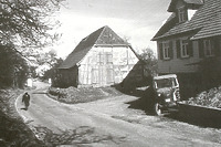 Schafstall vor der Versetzung  / Schafstall aus Schlaitdorf in 72667 Schlaitdorf (02.09.2011 - FLM Beuren)
