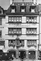 Haus zum roten Korb (1935), Fassadenansicht / Wohnhaus; Haus zum roten Korb in 78426 Konstanz (Bildindex Foto Marburg (74 988))