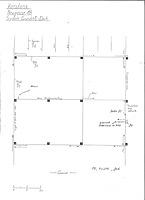 Systemgrundriss Dach (Handskizze) / Wohnhaus in 78426 Konstanz (14.10.1988 - Lohrum)