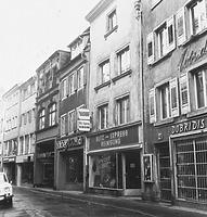 Ostzeile Rosgartenstraße (ca. 1960), rechts im Bild Nr. 21 / Wohnhaus in 78426 Konstanz (Bildindex Foto Marburg (B 640/7))
