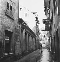 Tirolergasse, Blick gen Sueden (um 1960) / Wohnhaus in 78426 Konstanz (13.11.1960 - Bildindex Foto Marburg (B 639/ 3))