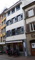 """Nordostansicht / Wohn- und Geschäftshaus """"Zur Lilie"""" in 78426 Konstanz (23.12.2016 - Christin Aghegian-Rampf)"""