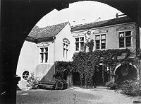 Ansicht Innenhof (1950/60) / Wessenberghaus, ehem. Domhof in 78426 Konstanz (12.11.2011 - Bildindex Foto Marburg (+376 834))