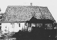 Wohnhaus noch in Echterdingen, Gesamtansicht von Süden (1987) / Wohnhaus aus Echterdingen in 70771 Echterdingen (27.11.1987 - Gromer, Bauhist. Untersuchung, 1987, Abb. 1)