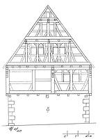 Fachwerkhaus in 75417 Mühlhausen, Mühlhausen an der Enz (lohrum)
