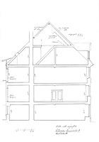 Querschnitt (Bauaufnahme 11/2011 / Wohn- und Geschäftshaus in 78050 Villingen (01.03.2012 - Lohrum)