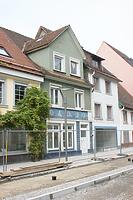 Straßengiebel / Wohnhaus in 78050 Villingen (21.10.2011 - Lohrum)