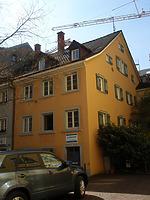 Neugasse 25 Straßenfassade / Wohnhaus in 78462 Konstanz (27.04.2008 - winterfuchs 2008)