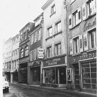 Rosgartenstraße Ostzeile / Wohnhaus in 78462 Konstanz (17.12.2014 - Foto Marburg B640/7, ca. 1960.)