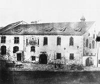Darstellung nach einem Gemälde von Nikolaus Hug (1851) / Ehem. Heiliggeistspital, ehem. Gasthaus Krone in 78642 Konstanz (Bildindex Foto Marburg (+377 095=)