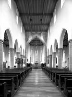 Blick zum Chor / St. Jodok in 88212 Ravensburg (Bildindex Foto Marburg)