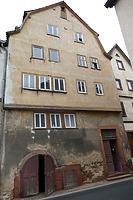 Ansicht West (Strassenseite) / Wohnhaus, ehem. Winzerhaus in 97877 Wertheim (08.11.2018 - Juan Sanchez)