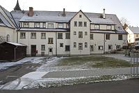 Spital Meßkirch, Ostansicht. / Heilig-Geist-Spital in 88605 Meßkirch (16.01.2012 - Michael Hermann)