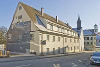 Spital Meßkirch, Ansicht von Nordwesten. / Heilig-Geist-Spital in 88605 Meßkirch (16.01.2012 - Michael Hermann)