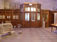Münsterpforte an der Westseite des südlichen Seitenschiffs (Kasse und Souvenirshop) / Münster Unserer Lieben Frau in 89073 Ulm (06.06.2012 - Michael Hermann)