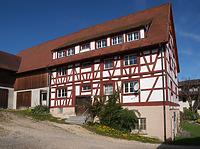 Außenansicht von Osten / Seestraße 10 in 78351 Bodman-Ludwigshafen (Baukern. Frank Löbbecke)