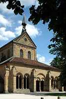 Paradies bzw. Vorhalle der Maulbronner Klosterkirche (2006) / Paradies, Vorhalle der Klosterkirche in 75433 Maulbronn (01.05.2006 - Bildindex Foto Marburg; Aufnahme-Nr. rhmbrtag055)