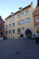 Nordfassade (2012) / Rathaus in 88709  Meersburg (01.03.2012 - strebewerk (Stuttgart))