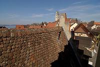 Dachzinnen des Westgiebels (2012) / Rathaus in 88709  Meersburg (26.03.2012 - strebewerk (Stuttgart))