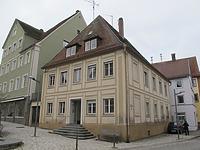 Ansicht des Gebäudes von Osten / Wohnhaus in 73479 Ellwangen, Ellwangen (Jagst) (18.11.2010 - Markus Numberger, Esslingen)