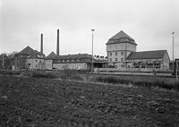 Bahnbetriebswerk gegen Norden (1989) / Bahnbetriebswerk Tübingen in 72072 Tübingen (01.11.1989 - Foto Marburg, Foto: Hajdu, Rose; Aufnahme-Nr. rhtk89-11-15b; Aufn.-Datum: 1989.11)