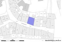 Lageplan (Vorlage LV-BW und RPS-LAD)  / Wohn- und Geschäftshaus in 72074 Tübingen