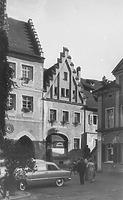 Ansicht Nordseite (1956) / Wohn- und Geschäftshaus in 88709  Meersburg (12.02.2013 - Bildindex Foto Marburg: Neg. Nr. LDA Tübingen, mi07244e02a)