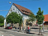 Ansicht Großes Haus von Westen  / sog. Großes Haus in 70736 Fellbach, Schmiden (Fotograf: Stadt Fellbach )