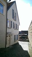 Straßengiebel, Ansicht gegen Südosten / Wohnhaus in 74321 Bietigheim-Bissingen (28.02.2014 - Lena Becker (München))