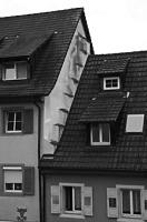 Detail Treppengiebel / Wohnhaus in 79219 Staufen, Staufen im Breisgau (Stadtarchiv Staufen )