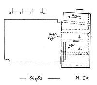Systemskizze Grundriss Keller / Wohnhaus in 79219 Staufen, Staufen im Breisgau (Burghard Lohrum)