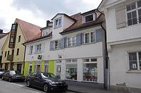 Ansicht der nördlichen Traufseite der Doppelhaushälfte Karpfengasse 5 und 7 / Fachwerkhaus in 88400 Biberach, Biberach an der Riß (24.06.2018 - Christin Aghegian-Rampf)