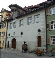 Fassade nach Südwesten (2012) / Mesmerhaus in 88709 Meersburg (strebewerk (Timm Radt))