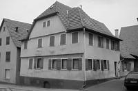 Ansicht Wohnhaus (Straßengiebel, SO) (2013) / Wohnhaus in 70794 Sielmingen (25.07.2002 - strebewerk.)
