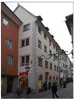 Straßenfassade / Wohn- und Geschäftshaus in 78462 Konstanz (01.03.2012 - Götz Echtenacher)
