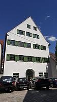 Fischergasse 15, Ulm- Südwestansicht / Wohnhaus in 89073 Ulm (30.05.2018 - Christin Aghegian-Rampf)