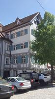 Nordwestansicht Fischergasse 3 / Wohnhaus in 89073 Ulm (30.04.2018 - Christin Aghegian-Rampf)