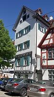 Südwestansicht Fischergasse 3 / Wohnhaus in 89073 Ulm (30.04.2018 - Christin Aghegian-Rampf)