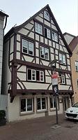 Ansicht der Südfassade / Fachwerkhaus in 89073 Ulm (04.04.2018 - Christin Aghegian-Rampf)