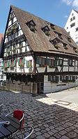 """Südostansicht / Fachwerkhaus, sog. """"Schiefes Haus"""" in 89073 Ulm (Christin Aghegian-Rampf)"""