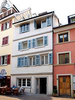 Straßenansicht / Wohnhaus in 78462 Konstanz (01.05.2013 - Frank Löbbecke, 2013)