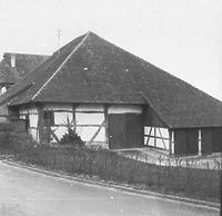 Torkel(-Scheune) / Torkel in 88709 Meersburg (01.01.1973 - Bildindex Foto Marburg: LDA TÜ, Neg. Nr. 22097)