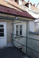 rückwärtige Traufe / Wohn- und Geschäftshaus in 78050 Villingen (28.10.2013 - Lohrum Burghard)