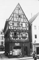 Nordgiebel (1969) / Sog. Salzhaus in 74821 Mosbach (Bildindex Foto Marburg: LAD Baden-Württemberg/Karlsruhe, Microfiche-Scan mi07363g13)