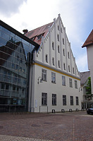 Nordostansicht des heutigen Museums Biberach, Museumstraße 6 / Altes Spital in 88515 Biberach, Biberach an der Riß (24.06.2018 - Christin Aghegian-Rampf)