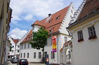 Südwestansicht des heutigen Museums Biberach, Museumstraße 6 / Altes Spital in 88515 Biberach, Biberach an der Riß (24.06.2018 - Christin Aghegian-Rampf)