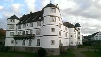 Ansicht gegen Nordosten / Schloss Pfedelbach in 74629 Pfedelbach (27.02.2014 - Lena Becker (München))