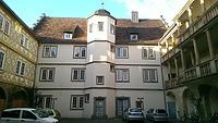 Hofseite Westflügel / Schloss Pfedelbach in 74629 Pfedelbach (27.02.2014 - Lena Becker (München))